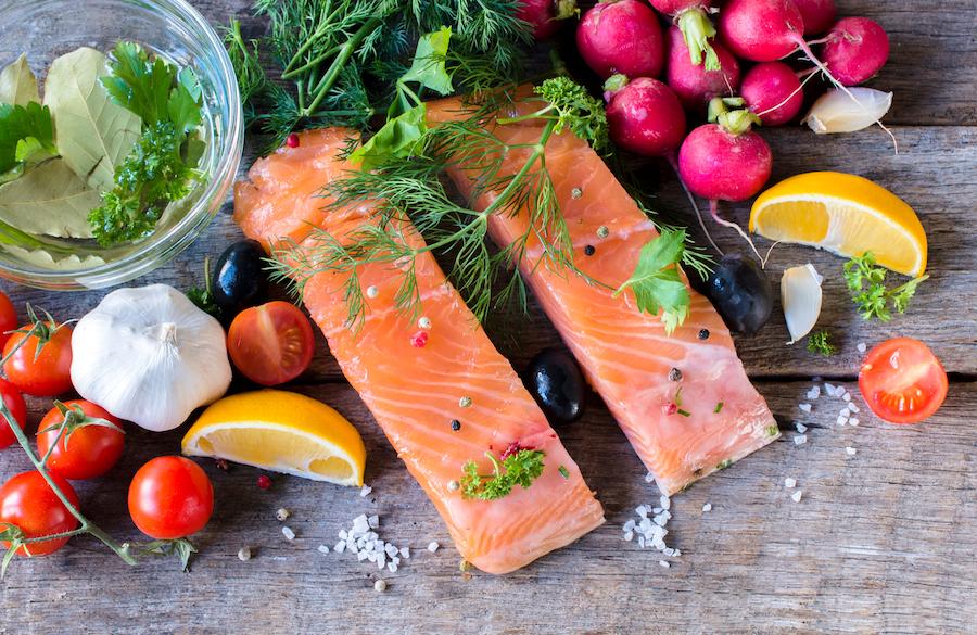 salmon para reducir el colesterol