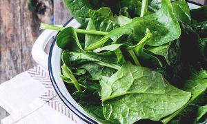beneficios nutricionales de la espinaca